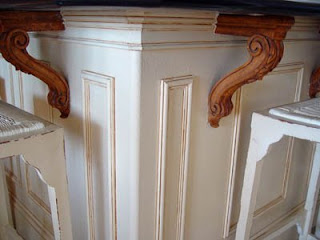 Faux panelling