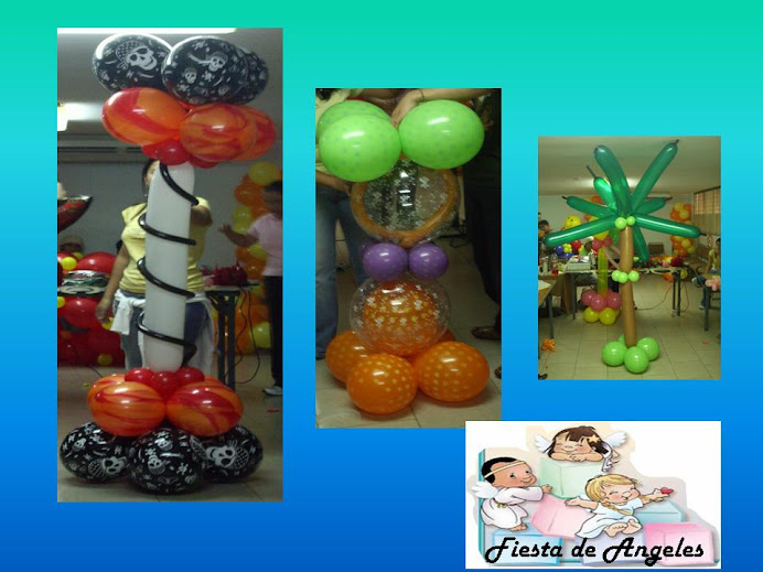 Decoracion con globos