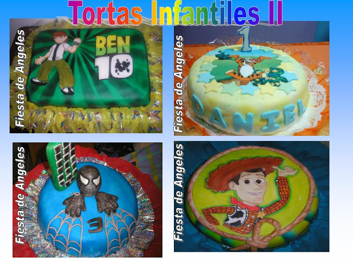 Tortas Infantiles II