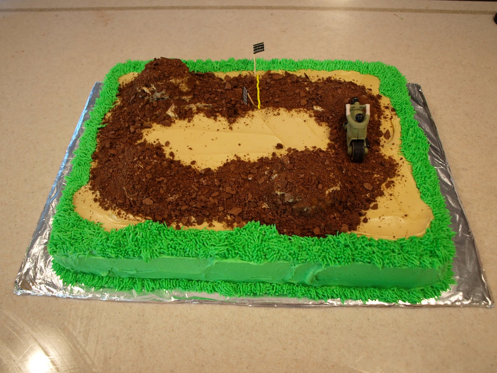 dirt bike cake - photo #36