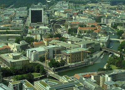 Museuminsel vanaf de Fernsehturm