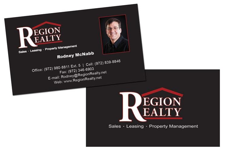 Monnerk design region realty biz card rockwall tx reheart Choice Image