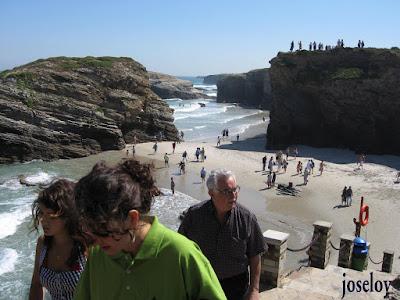 playa de las catedrales en noviembre