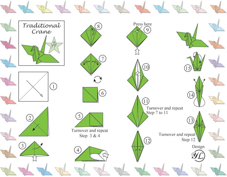 Origami Crane - How to Fold a Traditional Paper Crane