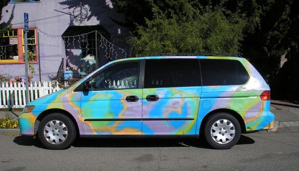 Our 2001 Honda Odyssey Minivan Art Car FOR SALE