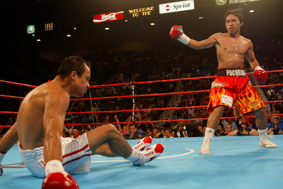 PAC-MAN FIGHTS: Pacquiao vs Juan Manuel Marquez - II (2008-03-15)