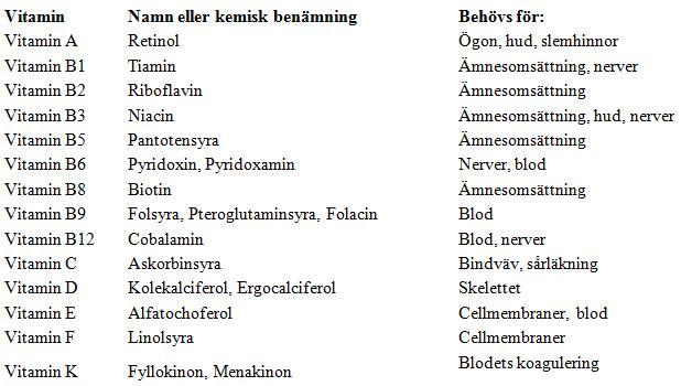 vad är b vitamin bra för