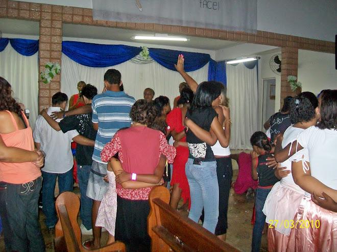 Culto de Gratidão - 1º Ano Rio de Deus