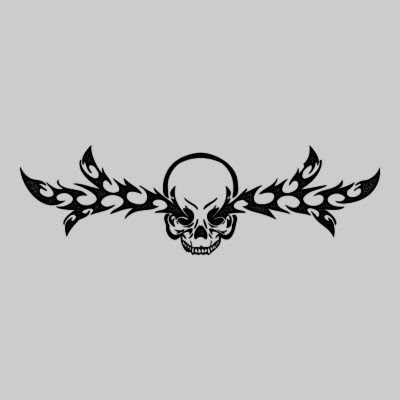 Tribal Skulls Tattoos on Daily Free Tattoo  Skull Tattoo Design   Tatrsk06