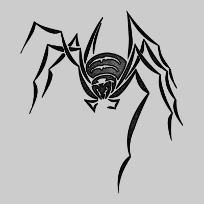 You can DOWNLOAD this Spider Tattoo Design - TATRSP22