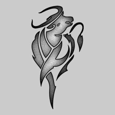 You can DOWNLOAD this Zodiac Tattoo Design - TATRZO01