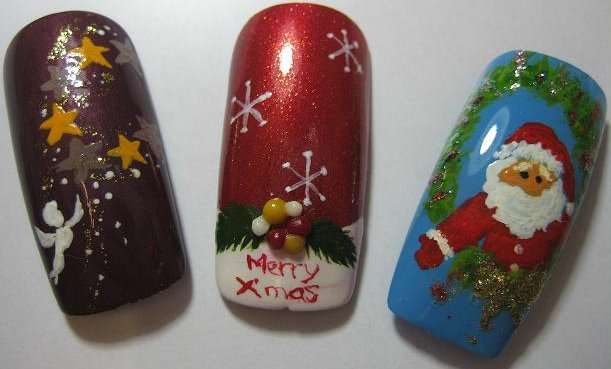 Christmas Nail Art Pictures - 7