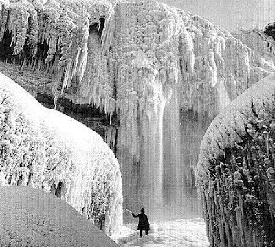 beku1 Bekunya Air Terjun Niagara Tahun 1911