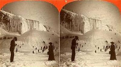 beku8 Bekunya Air Terjun Niagara Tahun 1911
