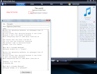 Lyric Plugin v3.0 Plug-in tìm lời bài hát cho WMp và WinP