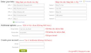 Gộp nhiều URL thành một với MultiURL