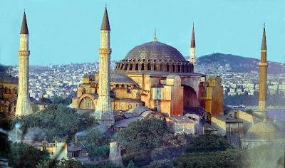 The Hagia Sophia, Sejarah Islam