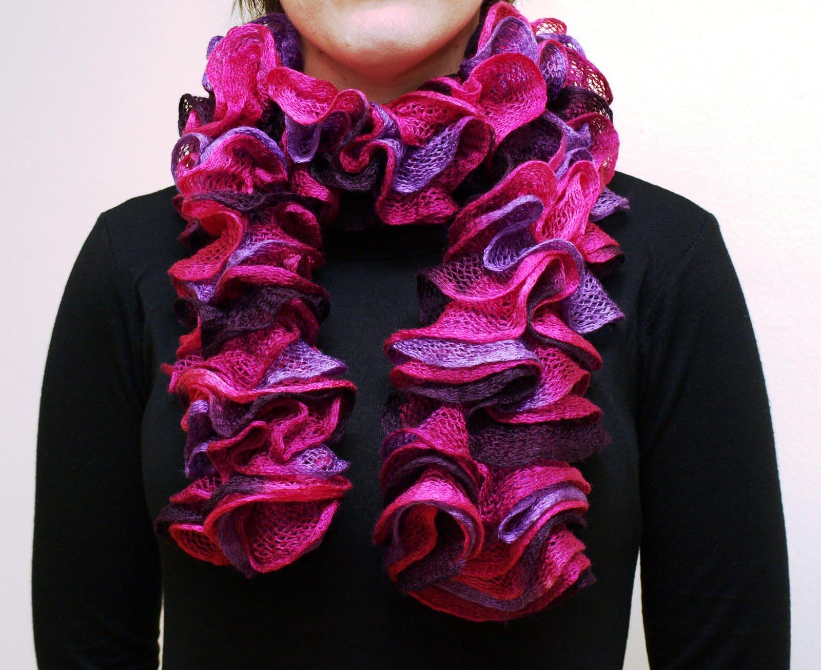 Cómo tejer una bufanda