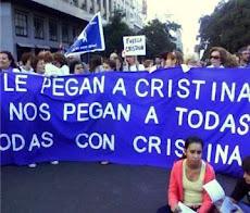 TODAS CON CRISTINA marchamos juntas el 24 de marzo