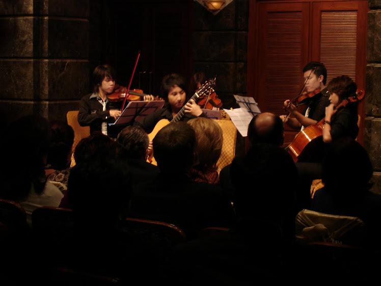 String Quartet + Guitar
