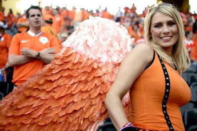 Daina Zagata Dutch Oranje Angel