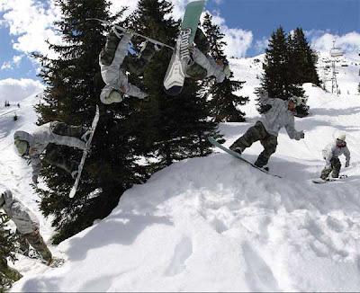 Snowboarding Trick : Backflips