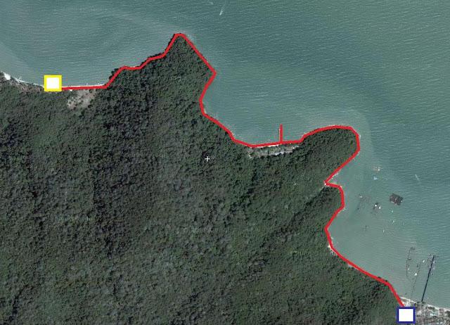 Cara ke Rumah Api Teluk Bahang