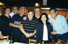TOTO ALBARRACIN, EL TUCU, ROBERTO TERNAN, LUIS LAPOUX, ADELINA VILLANUEVA y GUILLERMO FERRERAS