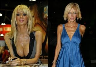 Jenna Jameson boobs visible in public