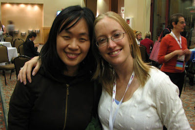 Jen and Me at Grace Hopper 2008