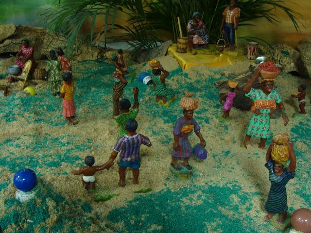 Belenes africanos y del resto del mundo