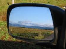 set the mirrors in your car with properly
