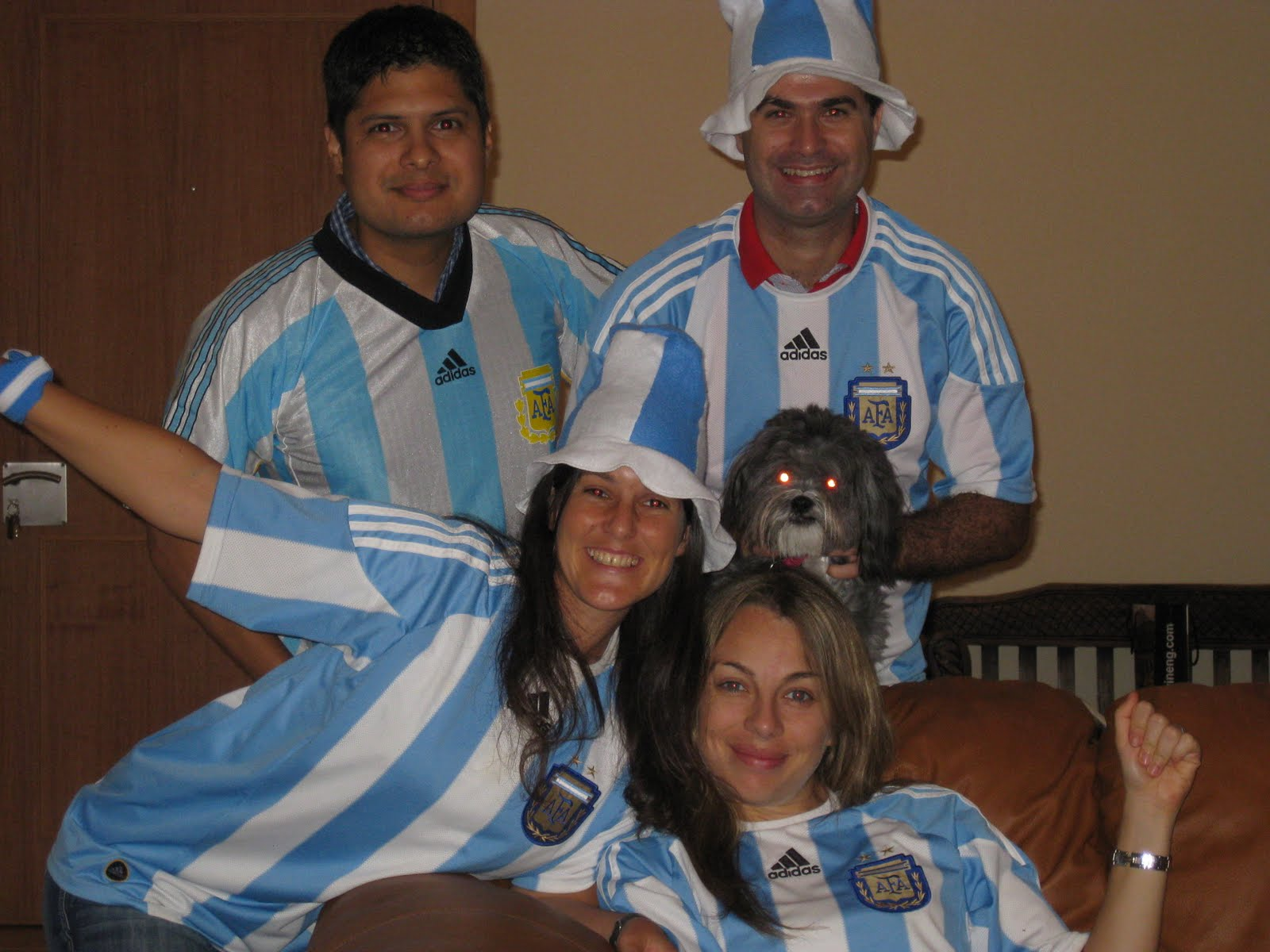 un argentino en nigeria pasamos a cuartos