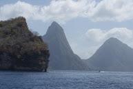 De Pitons op St. Lucia