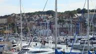 Vertrek uit Weymouth