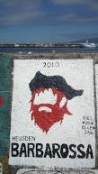 De muurschildering, artist: Giel