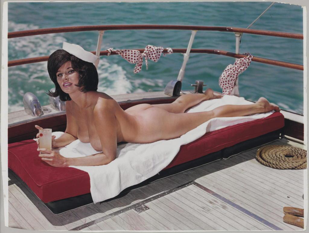 La modelo Sandra Settani en 1963