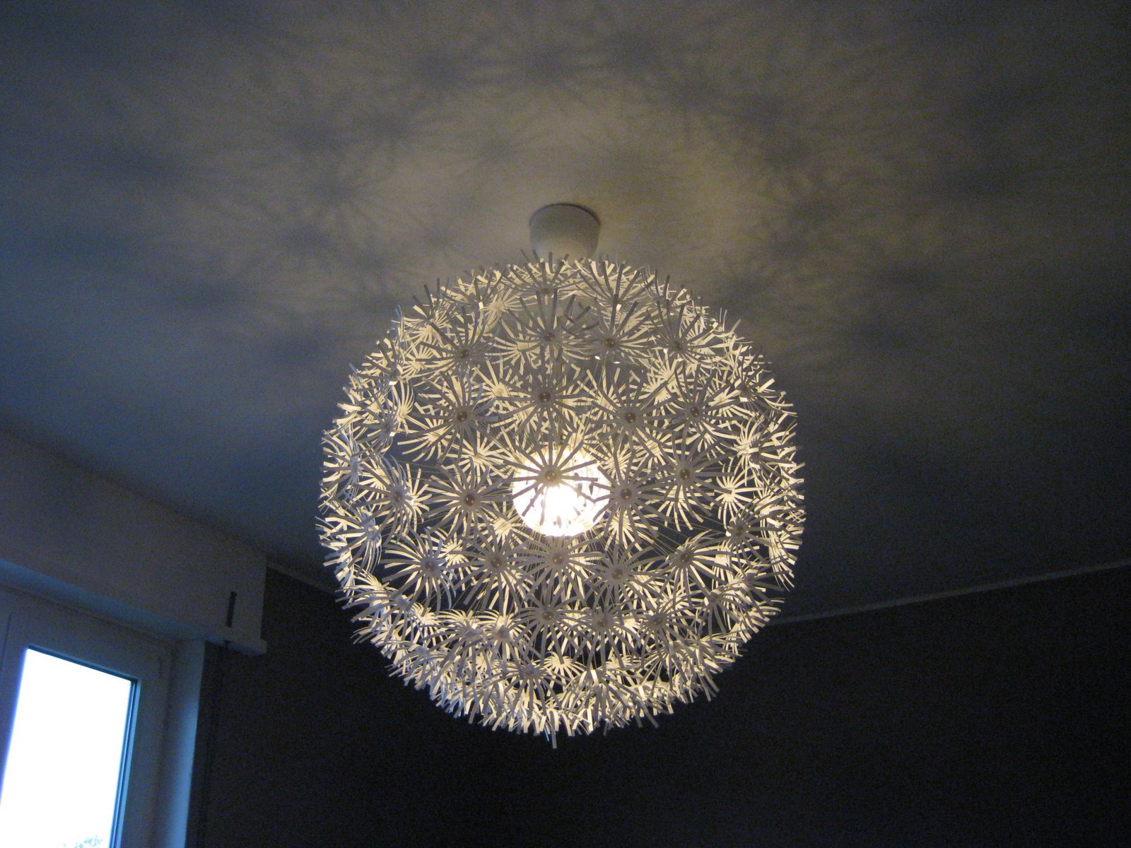 collected dandelion lamp. Black Bedroom Furniture Sets. Home Design Ideas