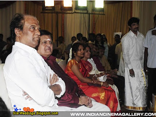 Superstar Rajinikanth in marriage function