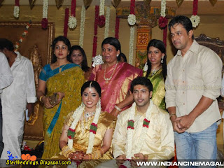 Tamil Actor Arjun attending the Wedding