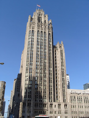 chicago tribune tower. The Chicago Tribune Tower