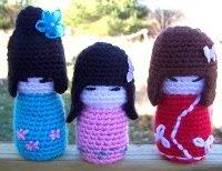Amigurumi Kokeshi Doll Pattern : Free amigurumi patterns: kokeshi dolls
