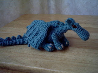 Dragon crochet pattern by funkyorange on Etsy