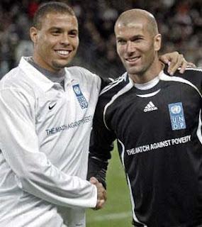 Ronaldo and Zidane will play in January,