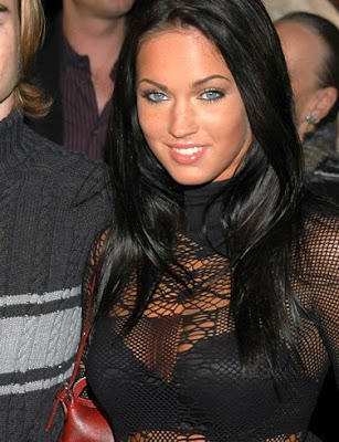 megan fox nose job before and after. Angelina Jolie wannabe, Megan Fox, did,
