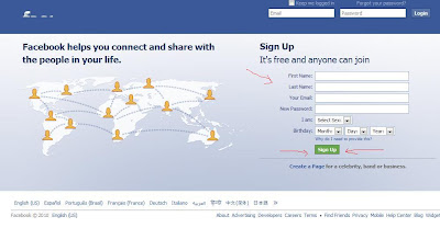 cara membuat facebook 1