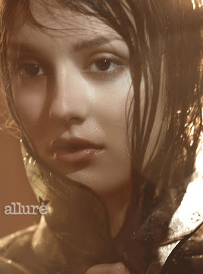 Leighton Meester, Blair Waldorf, Allure magazine