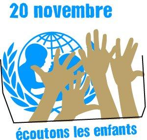 20 novembre Journée internationale des droits de l'Enfant