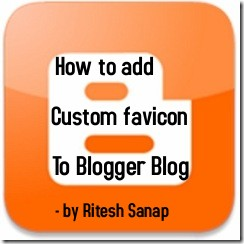 How to add Custom Favicon to blogger blog