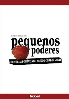 Capa segunda opção maçã Beto Ribeiro Livro Poder S/A - Histórias Possíveis do Mundo Corporativo